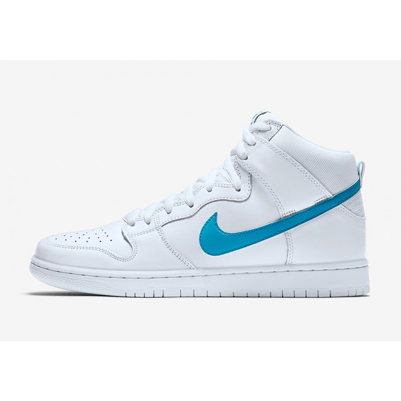 Nike SB Dunk High TRD QSMulder881758-141 White ,Blue