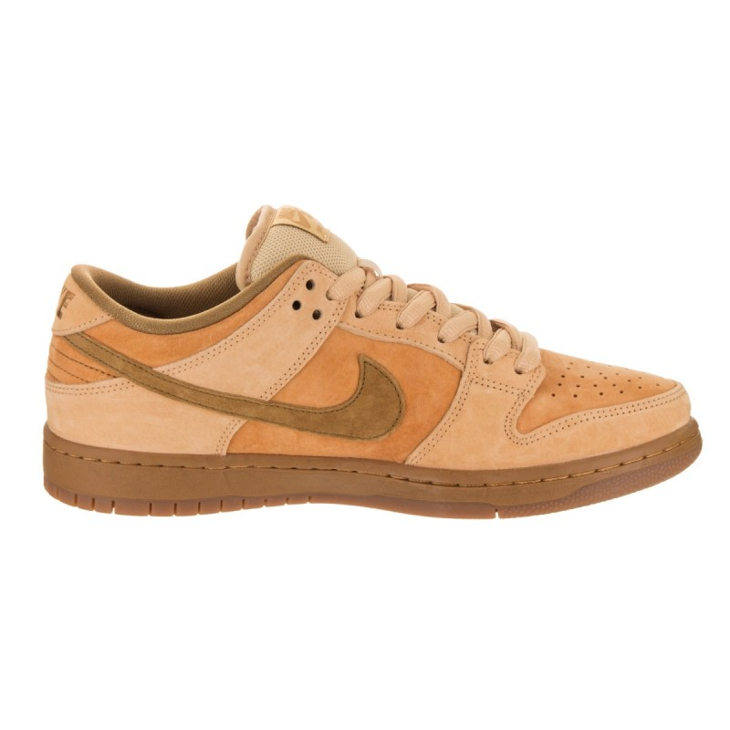 Nike SB Dunk Low TRD QSReverse Wheat 883232-700 Brown