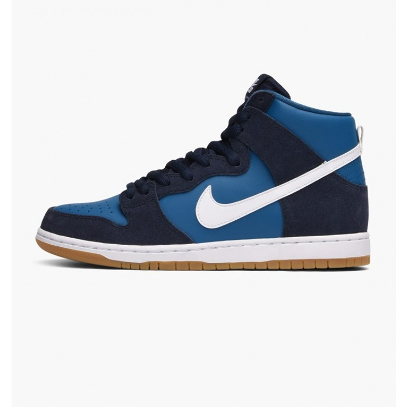 Nike SB Zoom Dunk High Pro 854851-414 White ,Blue