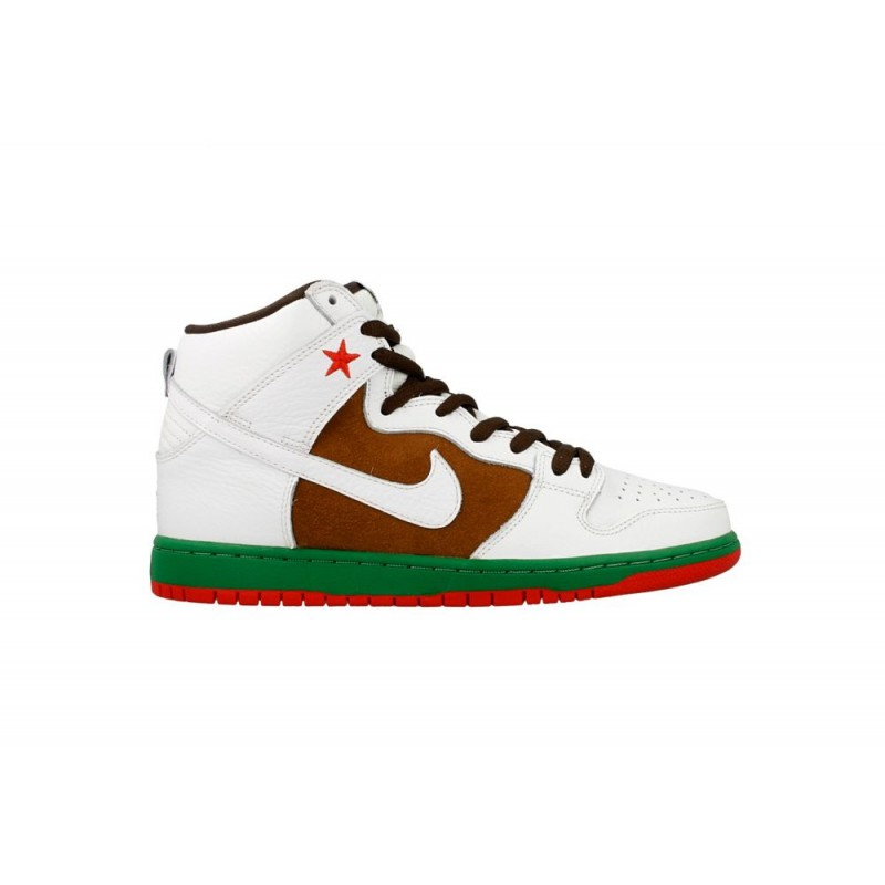 Nike SB Dunk High PremiumCali 313171-201 White