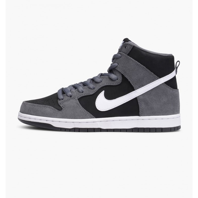 Nike SB Zoom Dunk High Pro 854851-010 Grey ,Black ,White