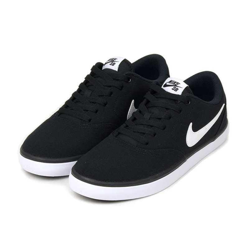 Nike SB Check Solarsoft Canvas 843896-001 Black ,White