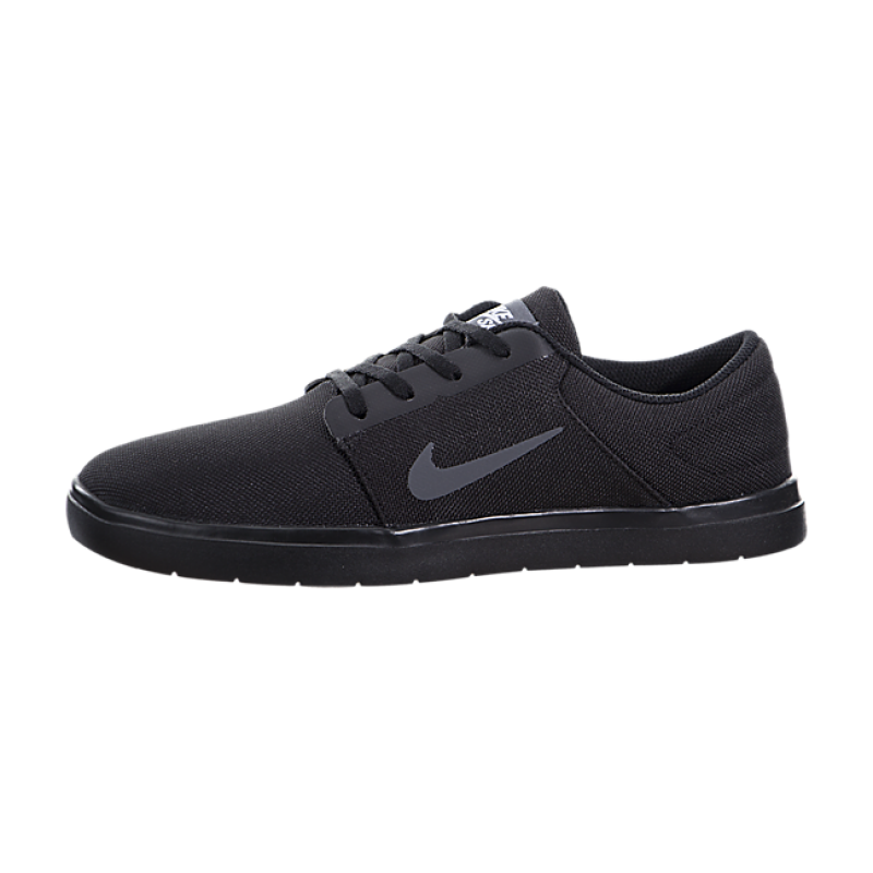 Nike SB Portmore Ultralight Canvas 844445-001 Black Grey ,White