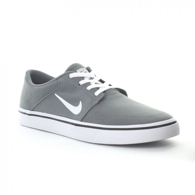Nike SB Portmore Canvas 723874-004 Grey ,Black ,White